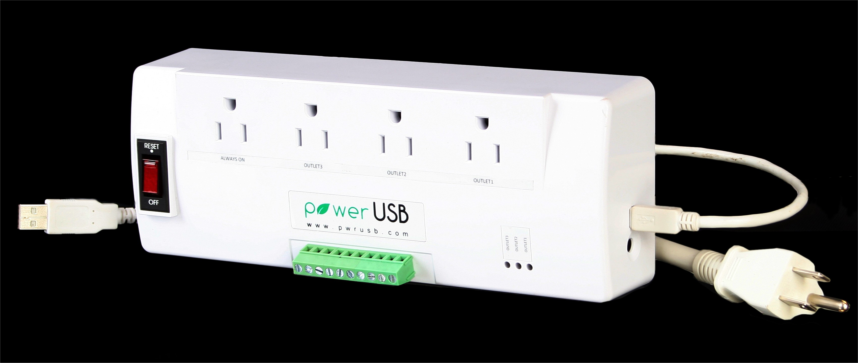 Power USB Digital IO PLC