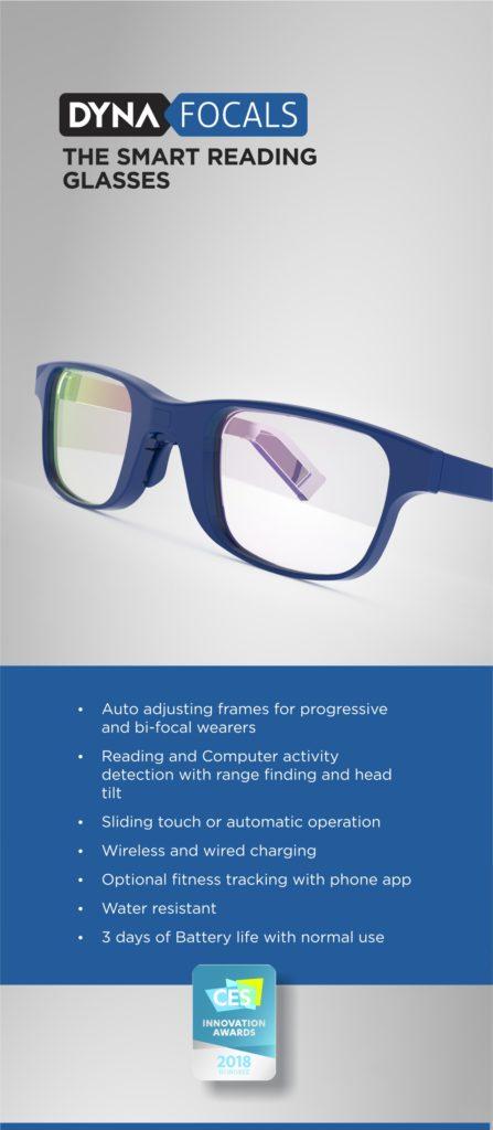 DynaFocals - DynaFit - DynaSound : Smart Modular Eyewear -